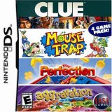 Clue/Mouse Trap/Perfection/Aggravation (Nintendo DS)